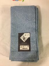 """New Waterford Linens Blue Jenna 100% Cotton Set Of 4 Napkins 21""""x21"""""""
