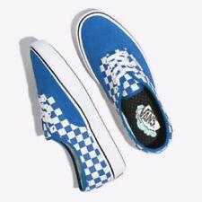 Vans Comfycush Authentic (Checker) Lapis Blue Men's 13