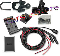 Garmin zumo 595LM 590LM Motorcycle Handlebar Mount,Power Cord RZ-1211000 w/Cover