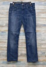 7 For All Mankind Jeans 30 x 29 Women's Straight Leg  (R-37)
