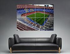 Camp Nou Stadium Football FC Barcelona Wall Art Poster Grand format A0 Print 02