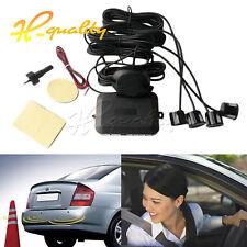 4 Parking Sensors Car Reverse Rear Buzzer Radar System Alert Alarm Kits