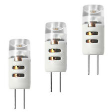 3 x LED Stift Birne 1,2W ~ 8W G4 12V 70lm 1,2 Watt 110° Warmweiß Leuchtmittel