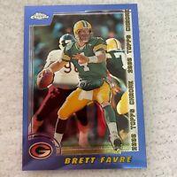 Brett Favre Green Bay Packers NFL Football 2000 Topps Chome Card