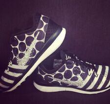SWAROVSKI Elements On Nike Women's Free 5.0 TR Fit 5 Shoes-Black/White-Size 7.5