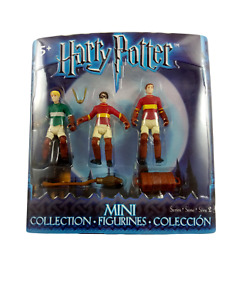 Mattel Harry Potter Mini Collection Figurines Harry, Draco & Oliver Wood Figures