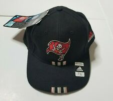 Adidas Tampa Bay Buccaneers Fitted Hat Cap 7 3/8 NFL Pro Line Authentic Bucs