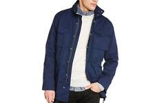Neuf LEE veste parka AUTOMNE / printemps bleu marine coupe standard Taille S