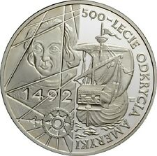 Poland / Polen - 200000zl 500th Anniversary of the Discovery of America