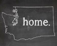 "WASHINGTON HOME STATE PRIDE 2"" x 3"" Fridge MAGNET CHALKBOARD CHALK COUNTRY"