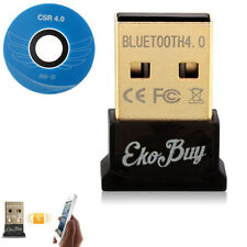 EkoBuy USB Bluetooth v4.0 Adapter Dongle PC Windows 10 8 7 XP in Retail Package