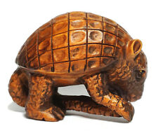 "Y6192 - 2 "" Hand Carved Boxwood Netsuke  : Pangolin"