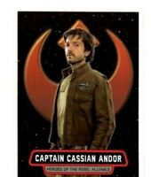 2016 TOPPS: STAR WARS ROGUE ONE SERIES 1 HR-2 CAPTAIN CASSIAN ANDOR CARD