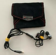 Monster Turbine  In Ear Only Headphones Inc Case Great Condition Work Fine!