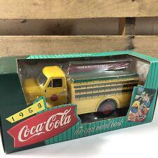 ERTL 1995 COCA COLA 1953 FORD C500 BOTTLE TRUCK 1/24 DIE CAST BANK NEW