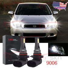 For Scion tC 2005 2006 2007 2008 2X 9006 Led Headlight Bulb Low Beam Super White