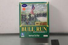 Battleground Battle Ground 7 Bull Run NEW SEALED BIG BOX PC Game