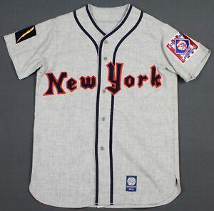 New York Knights Ebbets Field Flannels Centennial Baseball Jersey Medium