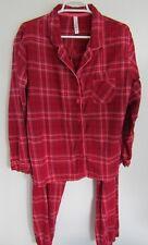 Gilligan O Malley Red Pajamas XXL 2XL Pink Purple Silver Plaid Long Sleeve cc16486af