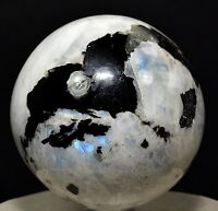 Rainbow MOONSTONE Crystal Sphere Ball Healing Tourmaline 55-60 MM