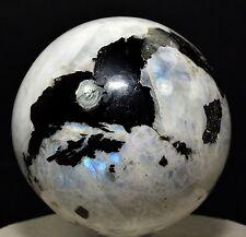 Rainbow MOONSTONE Crystal Sphere Ball Healing Tourmaline 55-60 MM