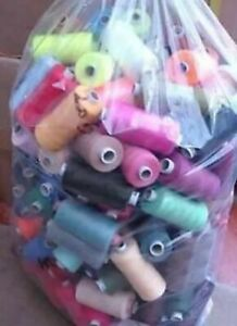 25 X 1000 yards POLYESTER THREAD - MIXED/ASSORTED 25 Threads