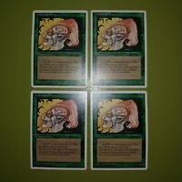 Llanowar Elves x4 - Fourth Edition 4th - Magic the Gathering MTG 4x Playset