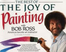 """The Best of The Joy of Painting with Bob Ross"" Oil Color How to Book"