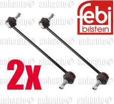 Set of 2 FEBI Front Stabilizer Bar Link's BMW E46 323 325 328 330 M3 Z4