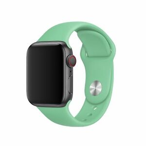 Genuine Official Apple Spearmint Sport Band Wrist Watch Strap - 38/40/42/44