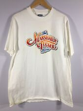 THE MARSHALL TUCKER BAND Concert Crew Vintage T Shirt White XL