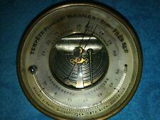 Baromètre holostérique NAUDET et thermomètre Réaumur