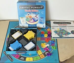 Trivial Pursuit Family Edition Board Game 2011 Part Sealed Contents VGC Hasbro