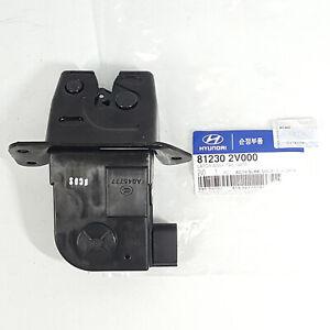 Genuine 812302V000 Oem Trunk Lock Latch Actuator For Hyundai Veloster 2012-2017