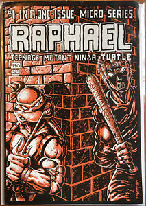 Raphael #1- 1st Print -1st Casey Jones- Teenage Mutant Ninja Turtles- TMNT