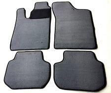 Passform-Velours-Fußmatten für Volvo 440/460 Baujahr 1988-96 Autoteppiche grau