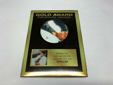 Michael Jackson - THRILLER - Gold Award CD © 2006