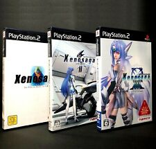 Xenosaga Episode I + II + III Bundled - PS2 Namco Role Playing Game from Japan