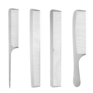 Detangling Hair Comb,Stainless Steel Professional Salon Hair Hairdressing