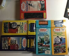 5 Lot: Thomas And Friends Vhs And Limited Edition Train