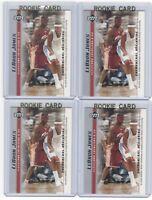 4 LEBRON JAMES 2003-04 Upper Deck Rookie Card RC lot/set Mint Gold Top Loader #9