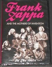 FRANK ZAPPA and THE MOTHERS OF INVENTION in the 1960's UK DVD new sealed