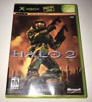 Halo 2 Microsoft Xbox Complete With Manual Bungie Rated Mature Pre Owned 2004
