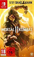 Mortal Kombat 11 (Nintendo Switch) (UNCUT) (NEU & OVP) (Blitzversand)