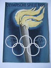 Official magazine 1936 Berlin Olympic Games Olympische Spiele 1936 No.5