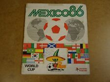 FOOTBALL PANINI ALBUM COMPLETE / WORLD CUP MEXICO 1986