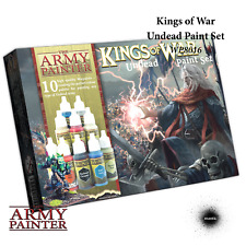 THE ARMY PAINTER Warpaints Kings of War Undead Paint Set NEW Wargaming Miniature