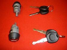 FOR VW GOLF MK1 2 3 CADDY STEERING IGNITION SWITCH BARREL LOCK KEYS 1H0905855