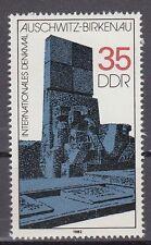 DDR East Germany 1982 ** Mi.2735 Gedenkstätten Memorials   Auschwitz Birkenau