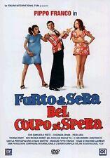 Dvd FURTO DI SERA BEL COLPO SI SPERA - (1974) *** Pippo Franco ***  ......NUOVO